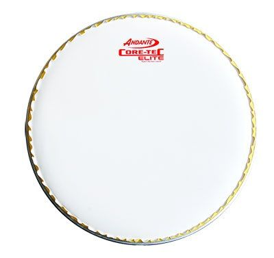 "Andante 14"" Core-Tec Elite Drum Head (White)"