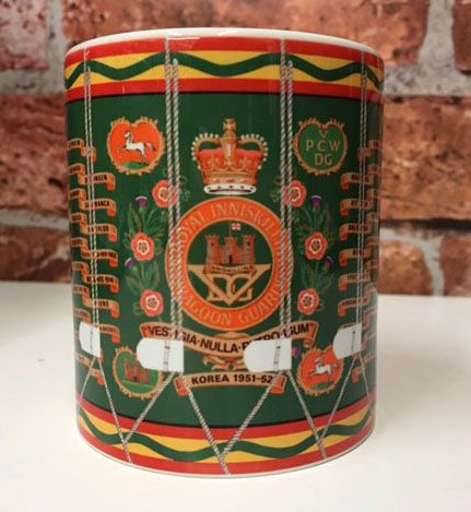 5th Royal Inniskilling Dragoon Guards Drum Mug