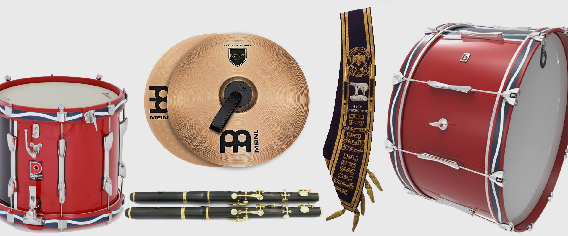 Northern Ireland Marching Band supplier  Main supplier for